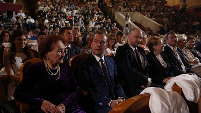 Роза Гавриловна Скачедуб стала лауреатом премии в номинации «За верность профессии».