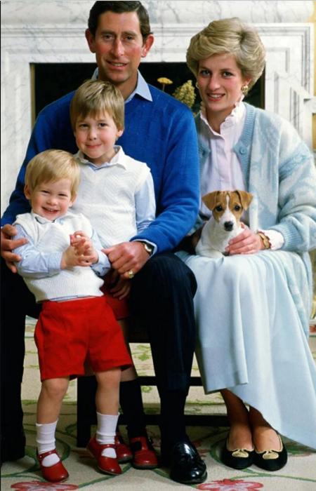 Принц Гарри в красных босоножках.