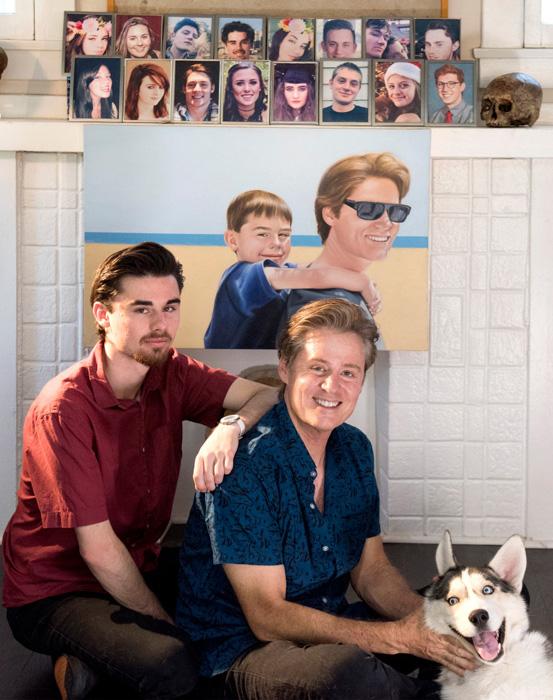 Майк Рубино и его сын Джейк.