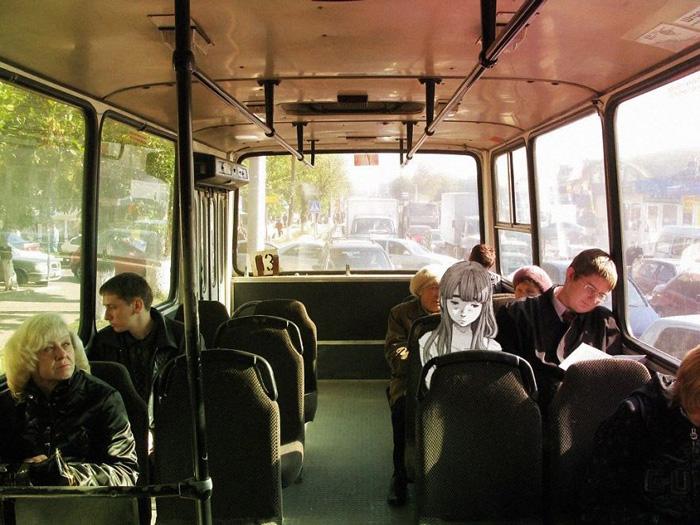 Пассажиры.