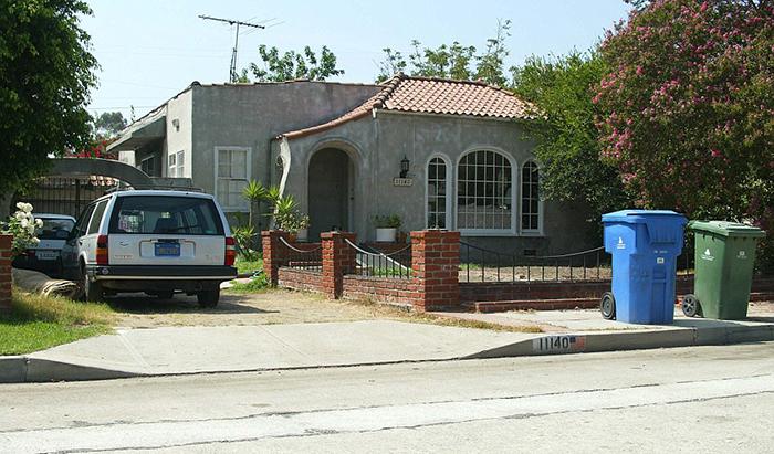 Дом, в котором Сабрина провела свои последние годы.