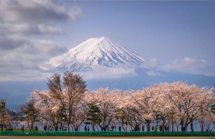 Вид на гору Фудзияма. Фото: Danilo Dungo.