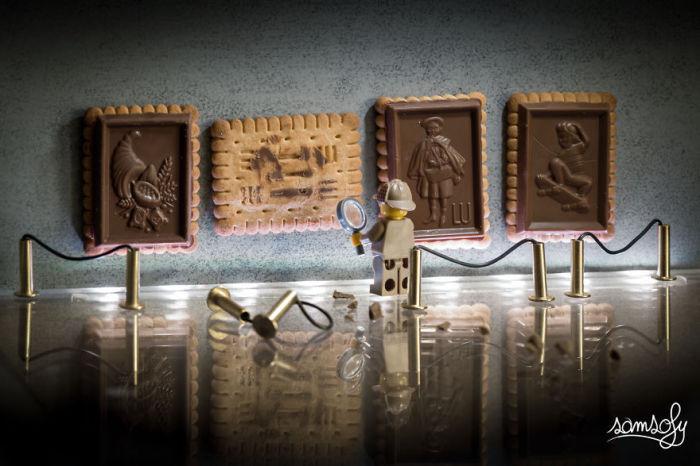 Следы шоколадного вора. Автор: Samsofy.