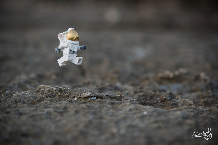 Прогулка по луне. Автор: Samsofy.