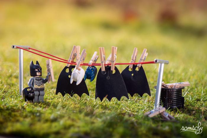Будни Бэтмена. Автор: Samsofy.