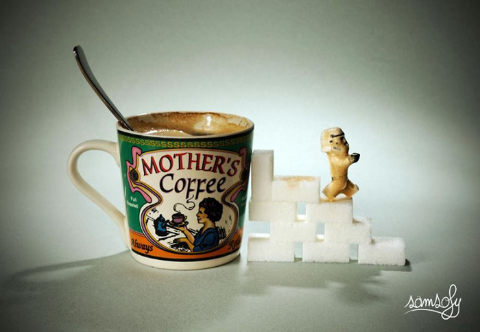 Кофейный штурмовик. Автор: Samsofy.