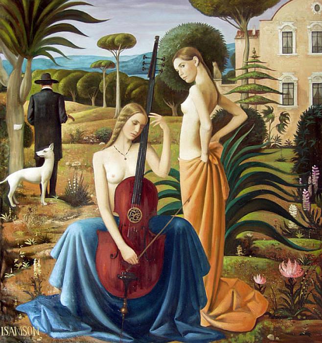 Музыка в саду. Автор: Игорь Самсонов.