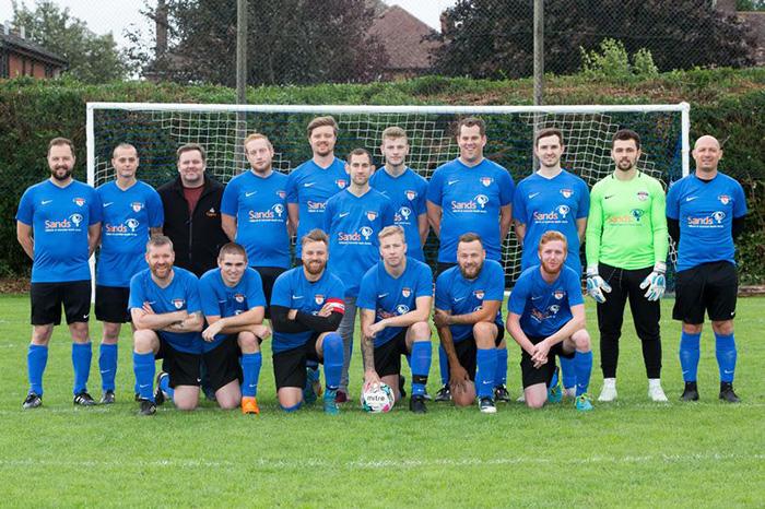 Футбольная команда «Sands Utd».