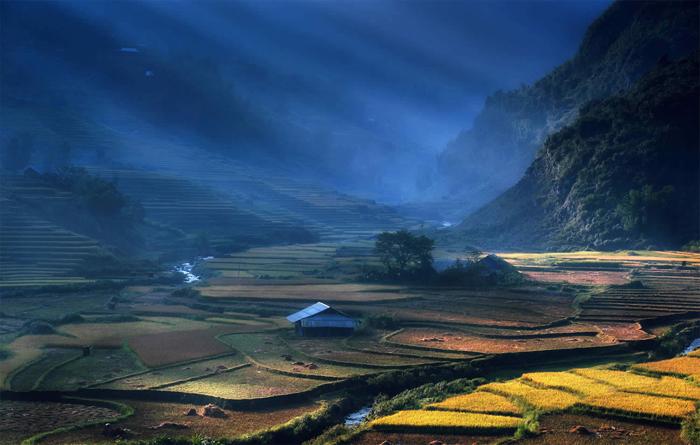 Изумительный пейзажи Вьетнама.