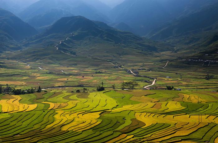 El fabuloso paisaje de la lente Saravuta Intaroba.
