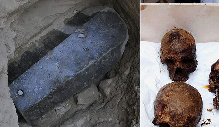 Саркофаг из Александрии.