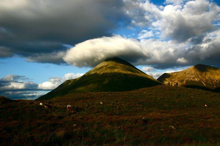Живописные виды Шотландии.