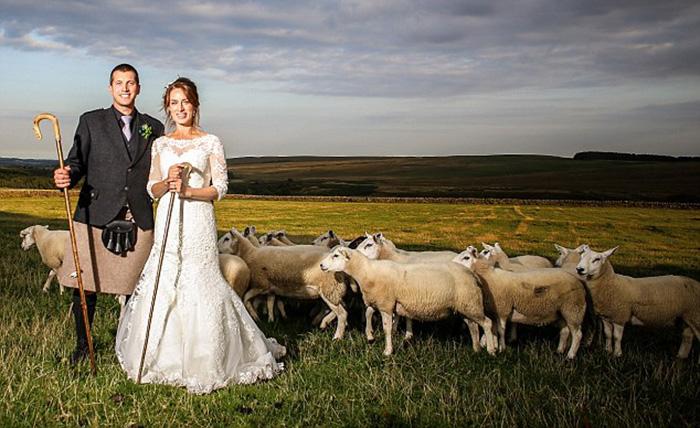 Эмма Грей, которую называли самой одинокой пастушкой Великобритании, вышла замуж.