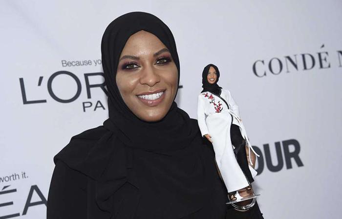 Новая Барби в хиджабе.