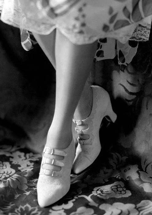 Закрытые туфли.