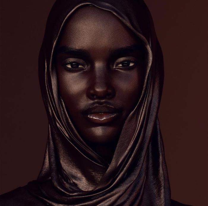 Шуду, африканская модель, существующая только в Инстаграме. Instagram shudu.gram.