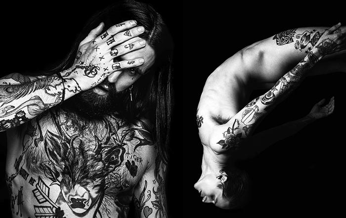 Danny Baldwin: проект Skin Deep, посвященный татуированным моделям-мужчинам.