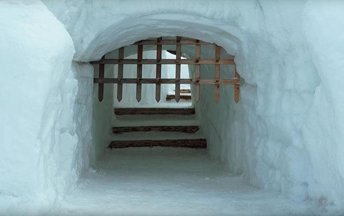 Снежный лабиринт находится в городе Закопане.