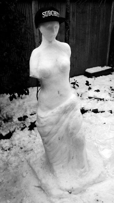 Собственная скульптура Венеры Милосской.