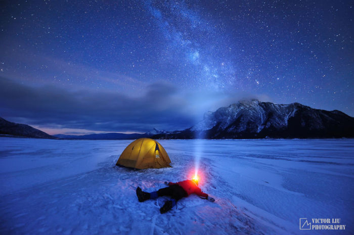 В снегах. Фото: Victor Liu.