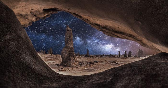 В пустыне. Фото: Meshari Aldulaimi.