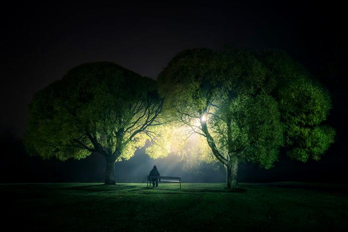 Ночные фотографии Микко Лагерстельдта.