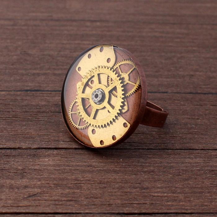 Стимпанк-кольцо.