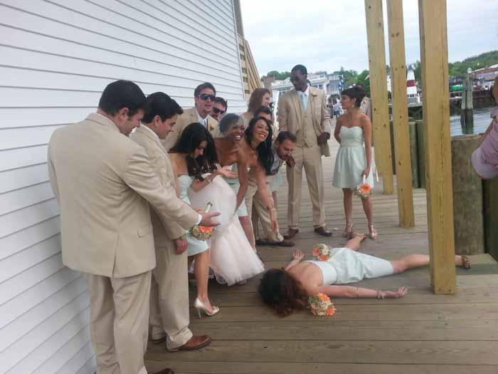 Драма на свадьбе. Instagram stefdies.