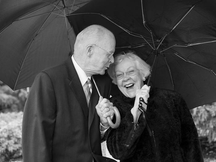 Дуг и Фран вместе 55 лет.
