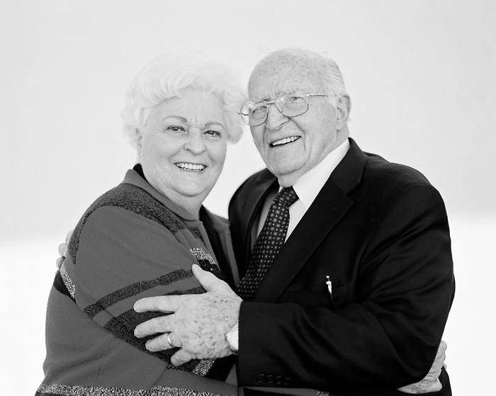 Джордж и Диана 60 лет в браке.
