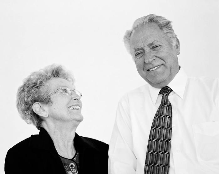 Мервин и Карлин Бекстранд 56 лет в браке.