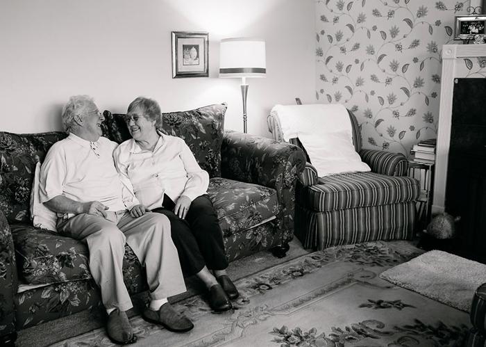 Рэй и Тесс 54 года в браке.