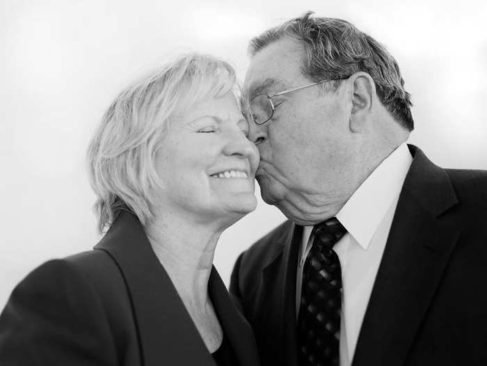 Эндрю и Норма 57 лет в браке.