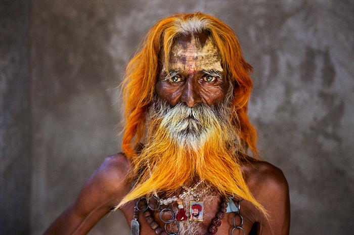 Пожилой мужчина из племени Рабари, Раджастан, Индия, 2010г.