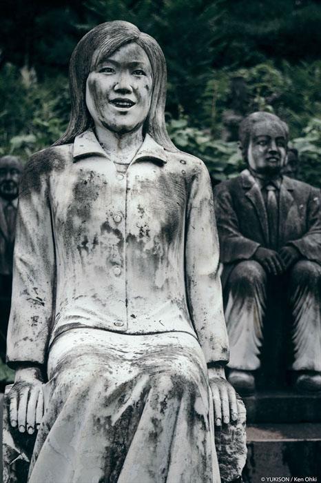 Статуя девушки.  Фото: Ken Ohki/Yukison.