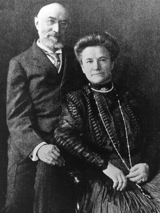 Isidor и Ida Straus - последнее совместное фото четы Штраус.