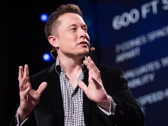 Американский инженер, предприниматель и миллиардер Илон Маск.