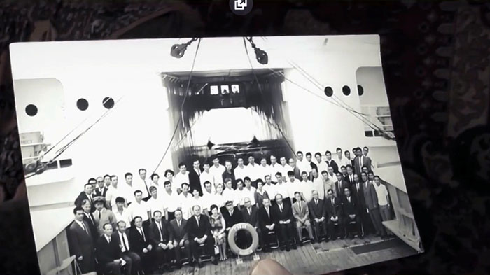 Команда судна Сулак.