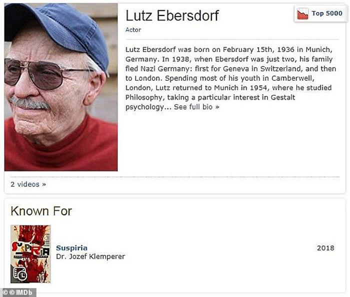 Профайл Лутца Эребсдорфа на IMDb.
