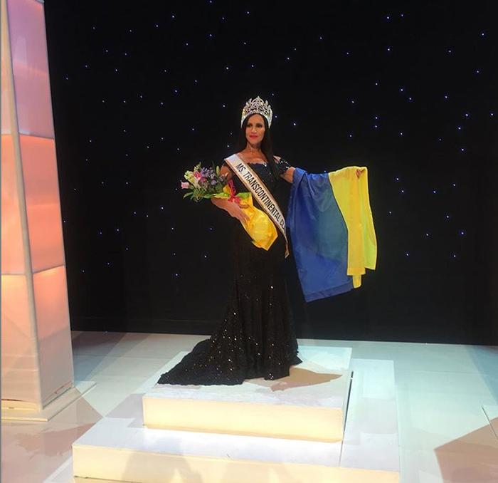 В финале конкурса Miss Transcontinental.  Instagram svetlanagass.