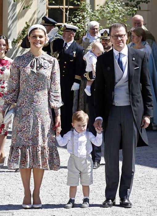 Кронпринцесса Виктория с семьей.