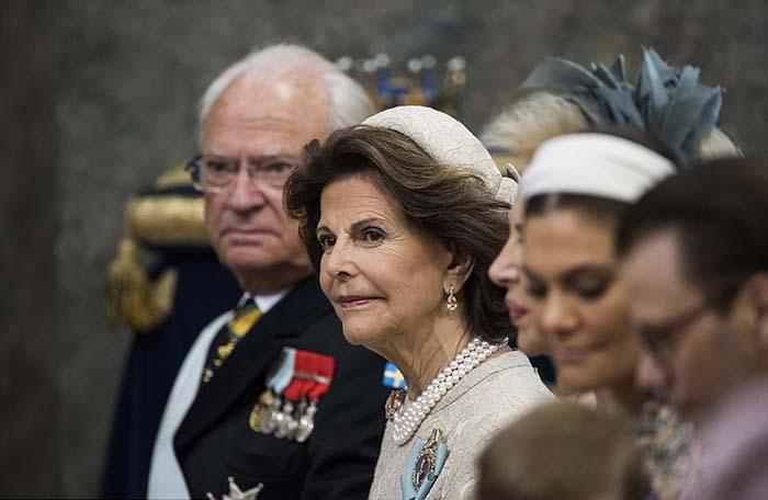 Король и королева Швеции.
