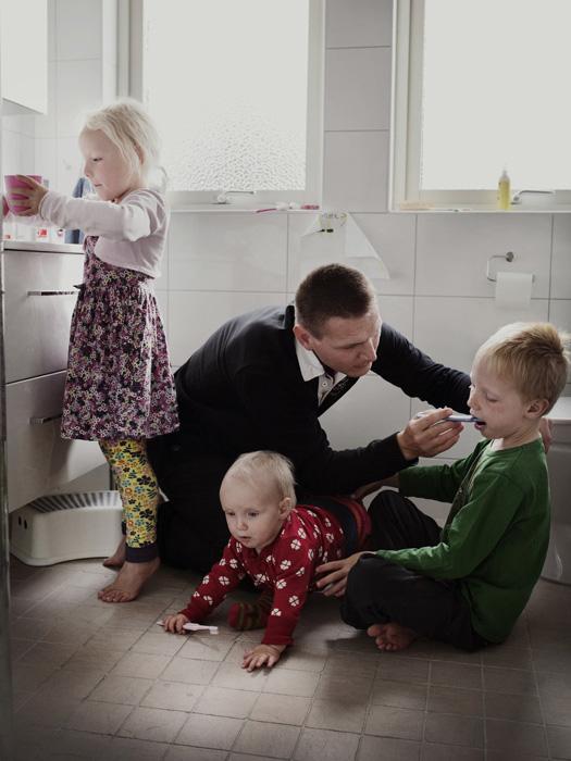 Йохан Экенгорд, 38 лет, менеджер в Сандвике.