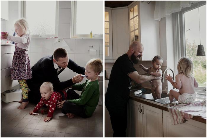 Шведские папы.