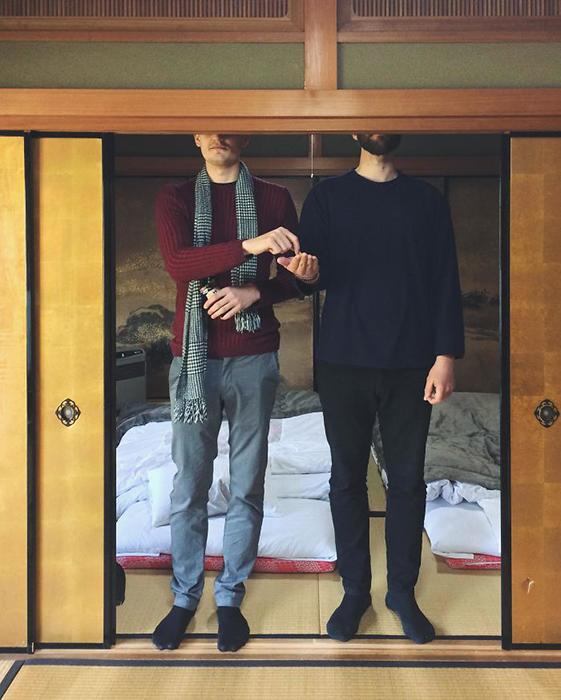 Чем ты выше, тем чаще ты кланяешься в Японии.