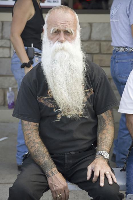 Татуировки у пожилых людей.