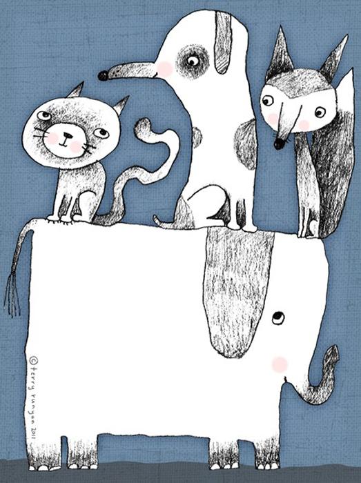 Поездка на слоне. Автор: Terry Runyan.