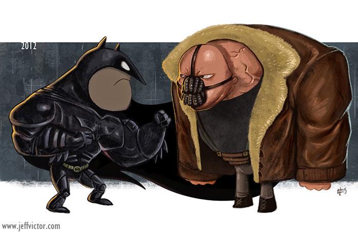 Тёмный рыцарь: Возрождение легенды, 2012.
