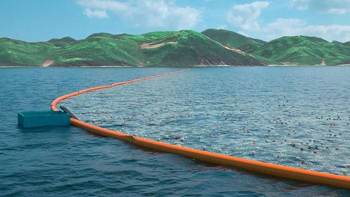 Новая концепция очистки океанов.