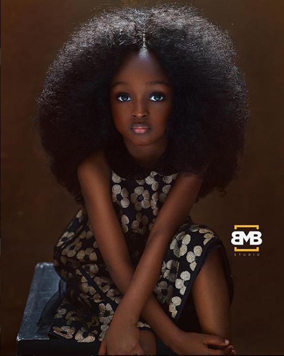 Младшая из сестер. Instagram mofebamuyiwa.